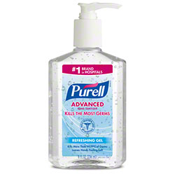 GOJO® Purell® Advanced Hand Sanitizer Gel - 8 oz. Pump