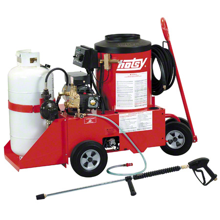 hotsy® 558 LP Fired Hot Water Pressure Washer