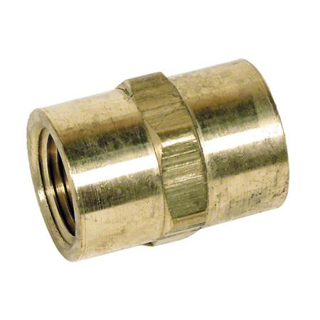 "hotsy® Brass Hex Coupling - 3/8"""