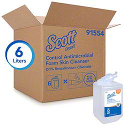 Scott® Control Antibacterial Foam Skin Cleanser - 1 L