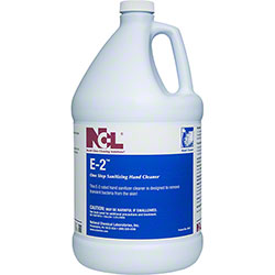 NCL® E-2 One Step Sanitizing Hand Cleaner - Gal.