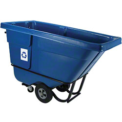 Rubbermaid® Blue Recycling Tilt Truck - 1/2 cu yd.