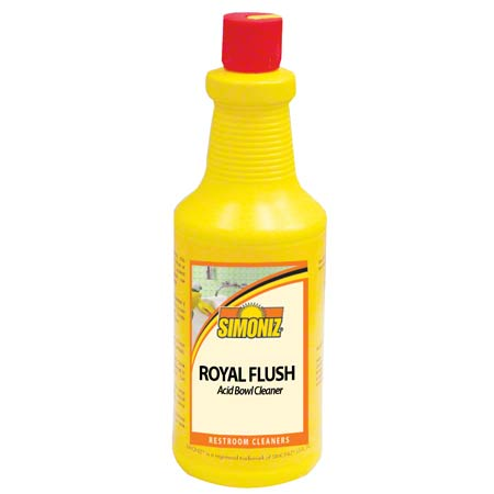 Simoniz® Royal Flush Acid Bowl Cleaner - Qt.