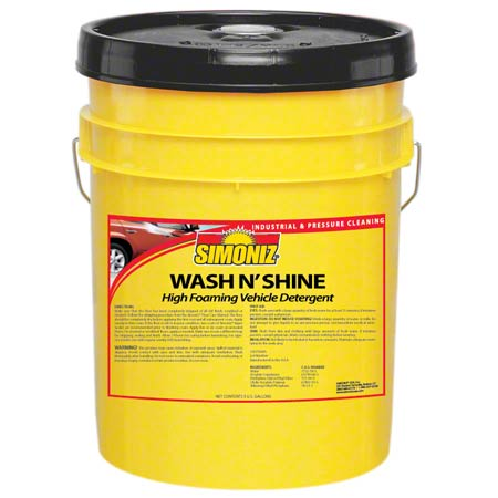Simoniz® Wash N' Shine Vehicle Wash Detergent - 5 Gal.