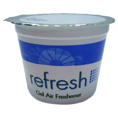 Fresh Refresh Gel Air Freshener - 12 Cups, Lemon