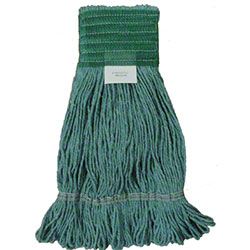 LaFitte Synthetic Blend Launderable Green Mop - Medium