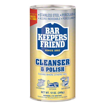 Bar Keepers Friend® Multi-Surface Cleanser & Polish-12 oz.