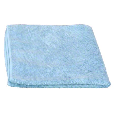 "Golden Star® Microfiber Cloth - 16"" x 16"", Blue"