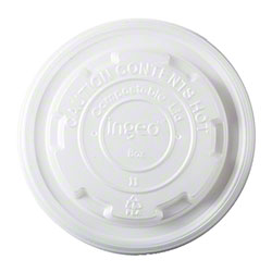 PrimeWare® 8 oz. CPLA Lid For Compostable Container
