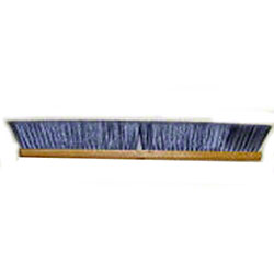 "Better Brush Flagged Gray Poly Floor Brush - 24"", Wood"