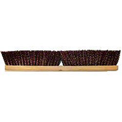 "Better Brush Maroon Polypropylene Garage Brush - 24"", Wood"