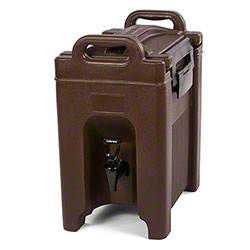 Carlisle Cateraide™ Beverage Server - 2.5 Gal., Brown