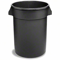 Continental Tuff Can™ Receptacle - 44 Gal., Black