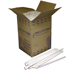 """Cell-O-Core 7 3/4"""" Jumbo Wrapped Straw R/S"""