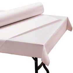 Hoffmaster® Paper Roll Tablecover - Bright White