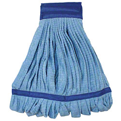 Impact® Microfiber Tube Wet Mop - Medium, Blue