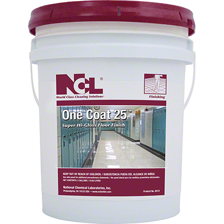 Ncl 174 One Coat 25 Super High Gloss Floor Finish 5 Gal