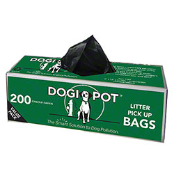 Dogipot® Smart Litter Pick Up Bags™ - Opaque Green