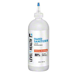 80% Liquid Hand Sanitizer - 32 oz.