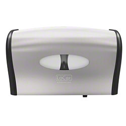 LoCor® Side by Side Bath Tissue Dispenser -Stainless Steel