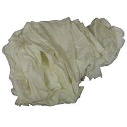 ABW White Knit Wiper - 10 lb. Box