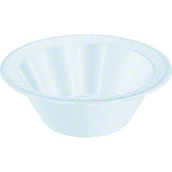 Dart® Quiet Classic® Bowl - 10 to 12 oz., White