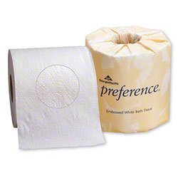 "GP Preference® 2 Ply Embossed Bath Tissue - 4.5"" x 4.05"""