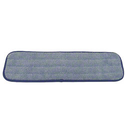 "Microfiber & More 19"" Blue Wet Pad w/Blue Banding"