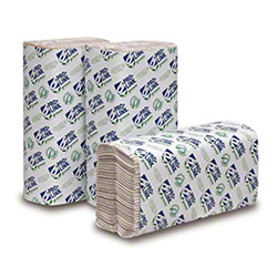 PRO-LINK® Green Certified C-Fold Towels - Natural White