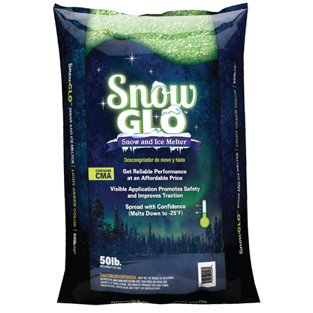 Snow Glo™ Snow & Ice Melter - 50 lb.
