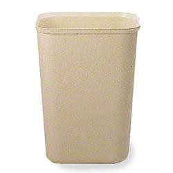 Rubbermaid® Fire Resistant Wastebasket - 40 Qt., Beige