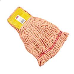 "Rubbermaid® Web Foot® Shrinkless® Wet Mop-SM,5"",Orange"