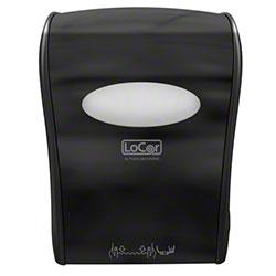 LoCor® Mechanical Hard Wound Towel Dispenser - Black