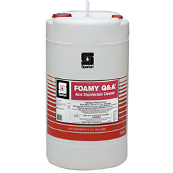 Spartan Foamy Q & A® Acid Disinfectant Cleaner - 15 Gal.
