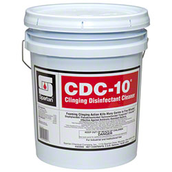 Spartan CDC-10® Clinging Disinfectant Cleaner - 5 Gal.
