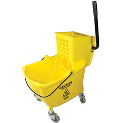 Impact® 26-35 Qt. Value-Plus Wringer/Plastic Bucket Combo