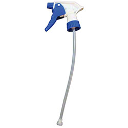 "Impact® General Purpose Trigger Sprayer - 10"", Blue/White"