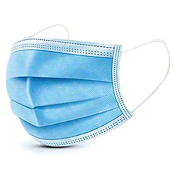 3-Ply Disposable Pleated Face Masks