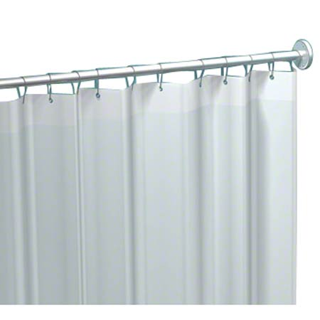 "ASI Vinyl Shower Curtain - 42"" W x 72"" H"