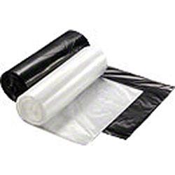 Rollpak MQ Blended Black LLDPE Liner - 33 x 39, 1.1 mil