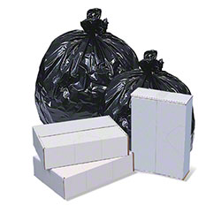 Pitt Plastics Interleaved Black & White Bags