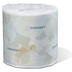 "Embassy® Premium 2 Ply Bath Tissue - 4.5"" x 3.8"""