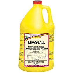 Simoniz® Lemon All Scented Disinfectant - Gal.