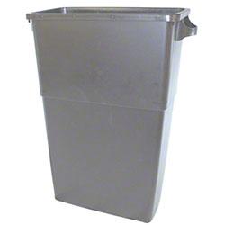Impact® 23 Gal. Thin Bin™ Gray Container