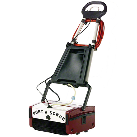 "Minuteman® Port A Scrub® -12"" w/Std Poly Brush & Battery"