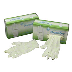 Prime Source® Hands Off Latex Glove - Small, Powder Free