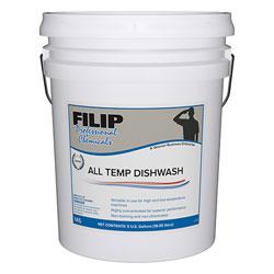 Filip All Temp Dishwash - 5 Gal.