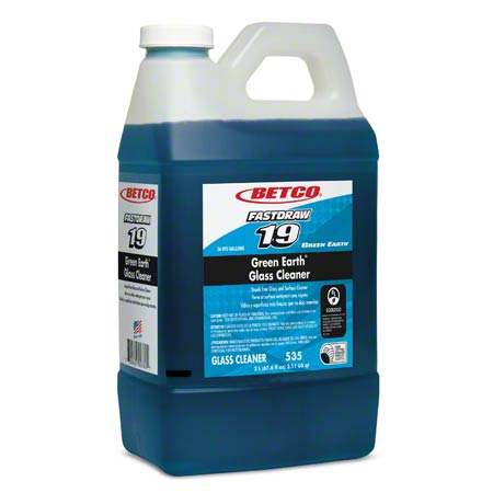 Betco® Green Earth® Glass Cleaner - 2 L, Fastdraw®