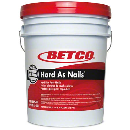 Betco® Hard As Nails® Hard Film Floor Finish - 5 Gal.