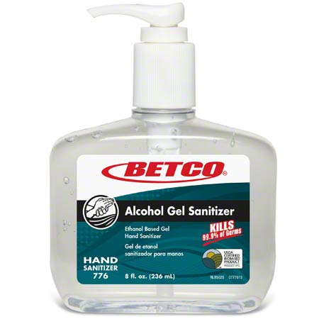 Betco® Alcohol Gel Sanitizer - 8 oz.